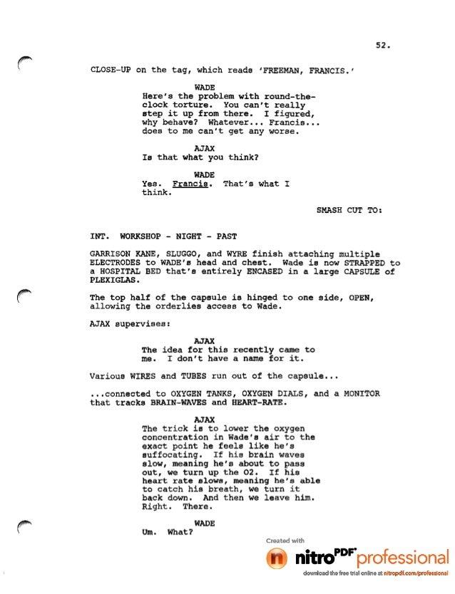 Movie Script Font Name