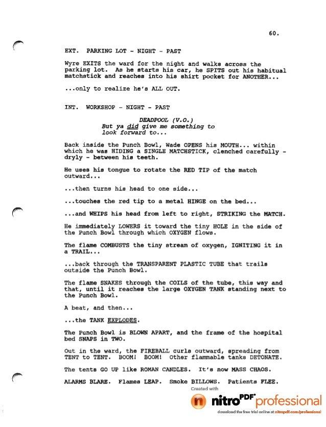 Pdf hindi film script