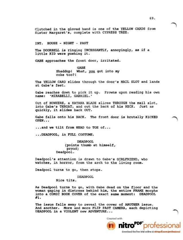 house of cards script pdf