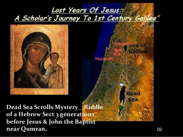 Dead Sea Scrolls Mystery__Riddle of a Hebrew Sect 3