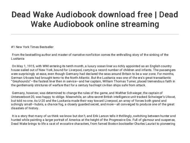 Waking The Dead Stream Deutsch