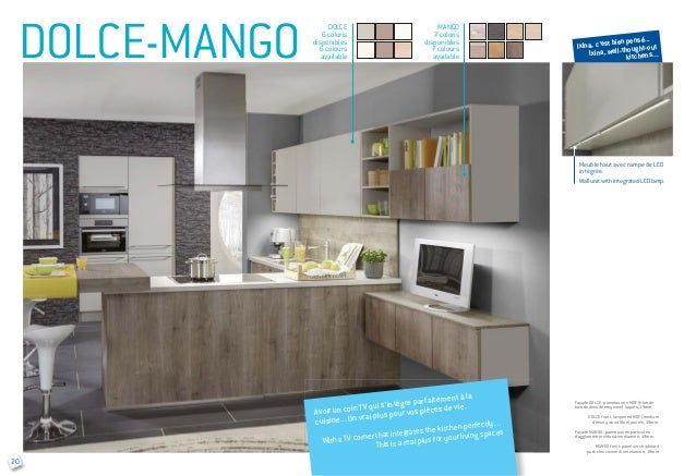 Ixina b2b kitchen introduction for Meuble tv yvan