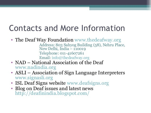 American Sign Language and Deaf Studies