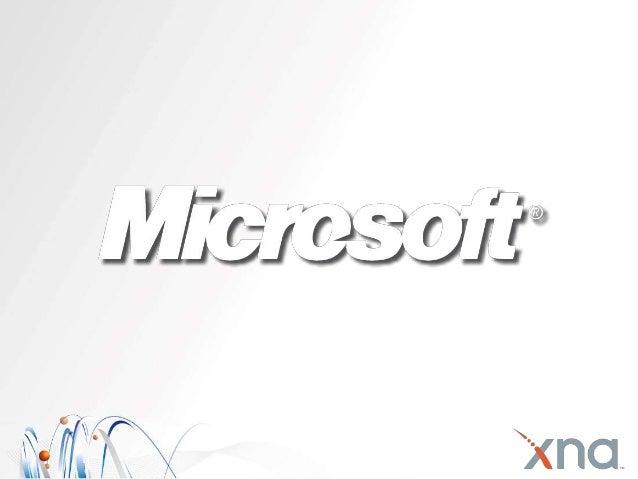 Microsoft, Gaming & Stuff Nick Hodge Professional Geek Microsoft nhodge@microsoft.com http://nickhodge.com