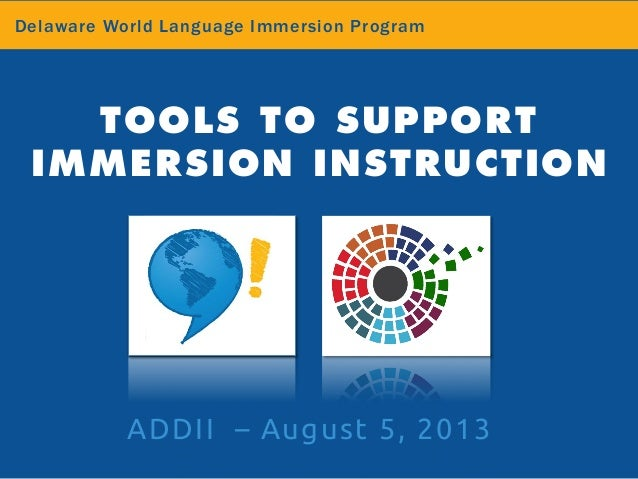 effects of immersion programs on native language The multiple benefits of dual language dual-language programs educate both english learners and one-way bilingual immersion programs teach native english.
