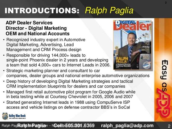 Dealer advertising workshop   kelley blue book e networking session v5 Slide 2