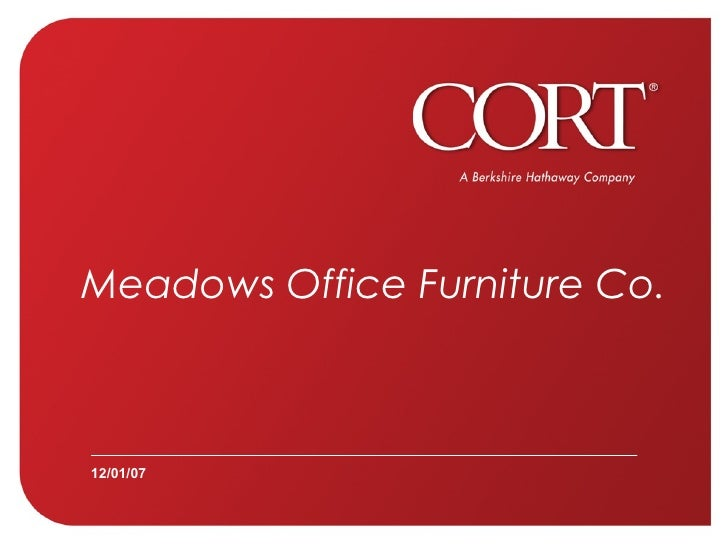 Meadows Office Furniture Co. 12/01/07