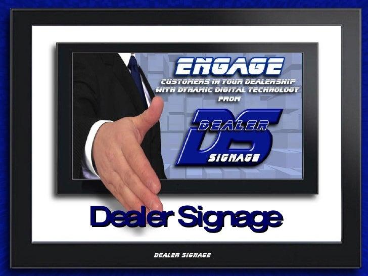 Dealer Signage