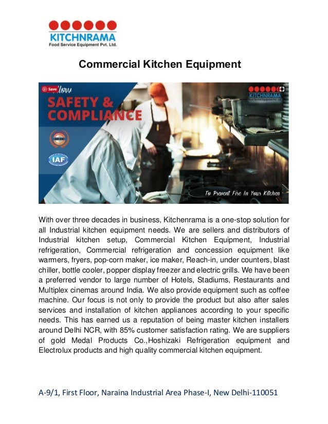 Dealers in food service & commercial kitchen equipment kitchenra…