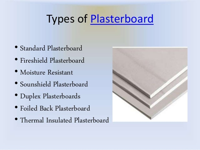 Types Of Gypsum Board : Dealhut cheap plasterboard types uses