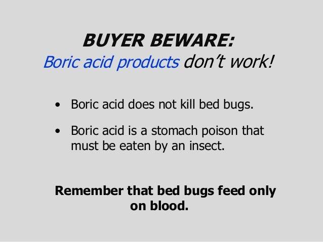 dealing w bed bugs