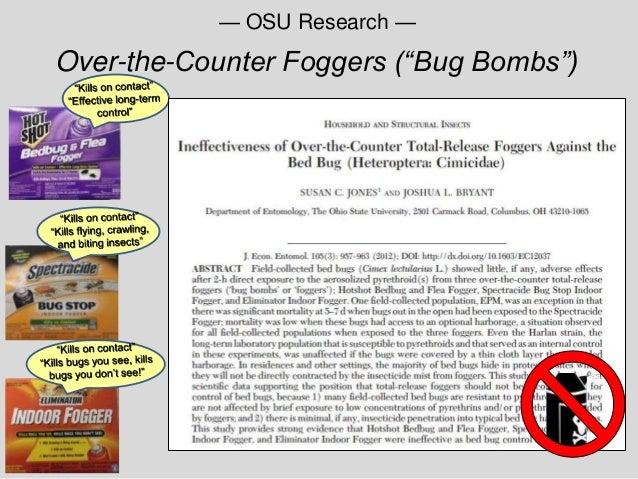 foggers u201cbug bombsu201d u2014 osu research
