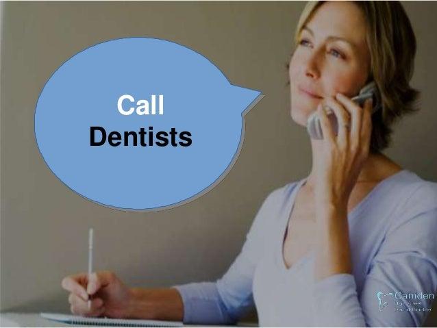 Thank You for Wacthing Camden High Street Dental Practice 0207 388 6108 info@camdenhighstreetpractice.co.uk 22 CAMDEN HIGH...