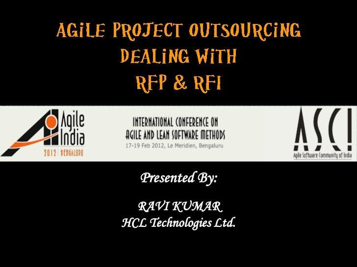 Presented By:  RAVI KUMAR            http://www.bilzits.com/servicests_en.aspHCL Technologies Ltd.