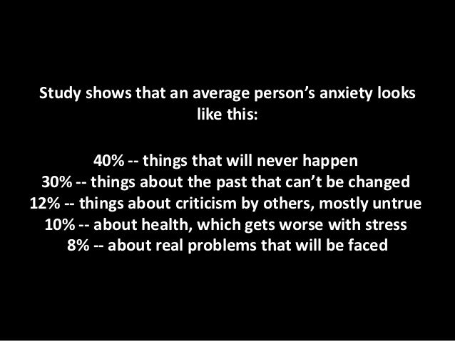 How a christian deals with anxiety