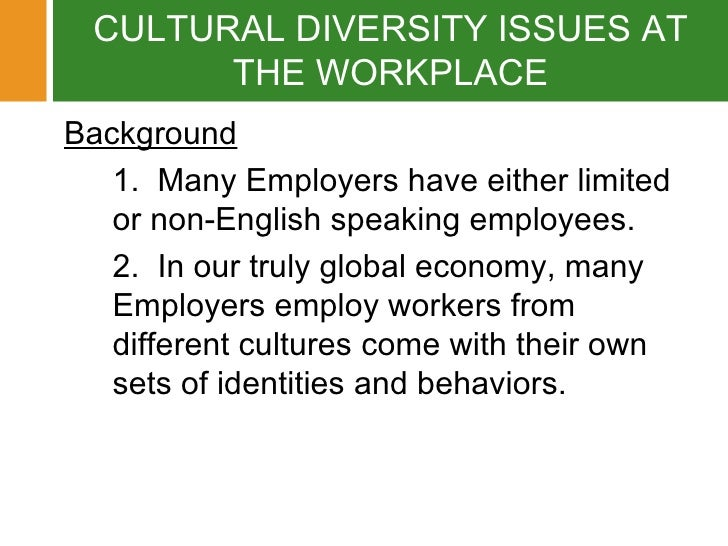 What Is the Advantage for a Business to Have Diversity Training for Its Employees?