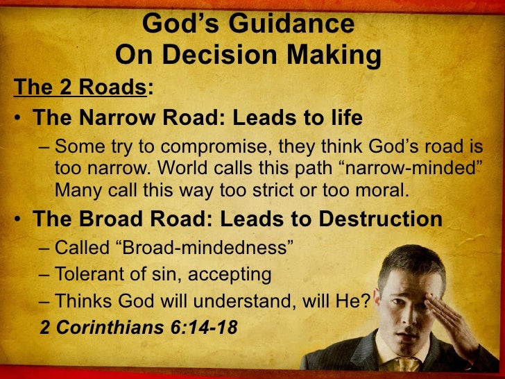 Dealing With Decisions