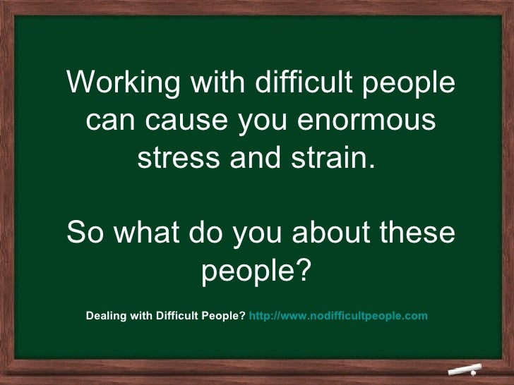 Dealing With Difficult People at Work and The Timeout Strategy