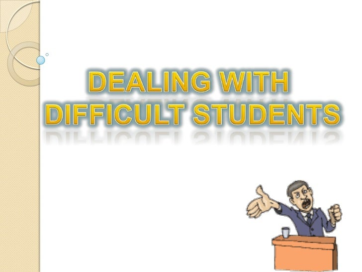 Sense of failure, rejection,threat   To avoid these feelings    ◦   Clarify types of behaviour    ◦   Understand some cau...