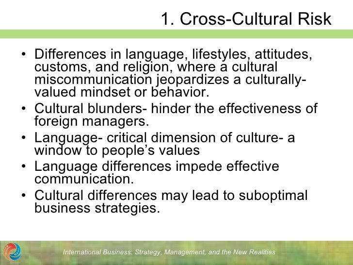 cross cultural miscommunication You may want to consider a form of foreign language or cross-cultural training for  employees who deal with clients of a specific culture compile.