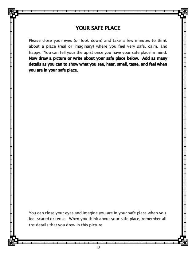 Trauma Worksheet 025 - Trauma Worksheet