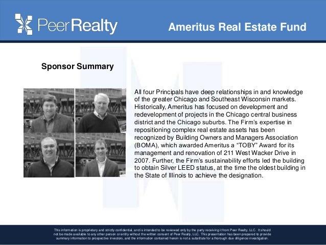 Ameritus Real Estate Fund Webinar