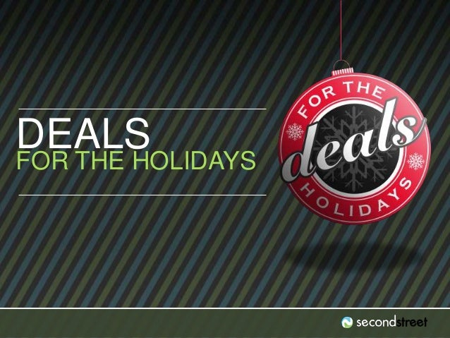 #DealsLab DEALS FOR THE HOLIDAYS