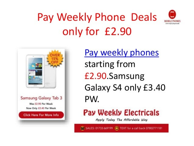 Deals On Pay Weekly Uk On New Year