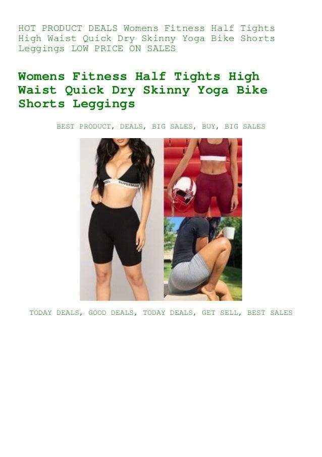 Half High Waist Quick Dry Shorts For Women Fitness Skinny Bike Shorts For Ladies