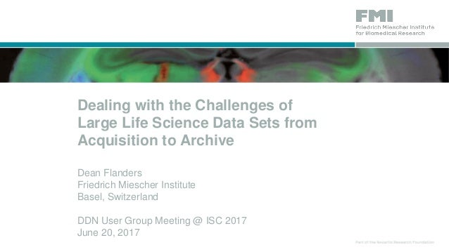 Data Acquisition Set : Dealing with the challenges of large life science data