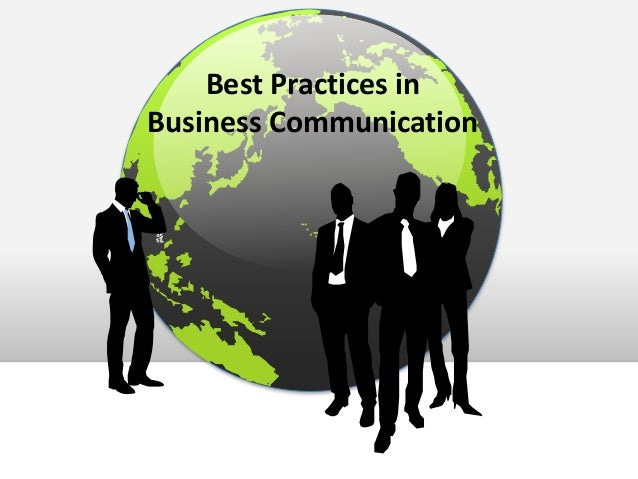 Best Practices in Business Communication