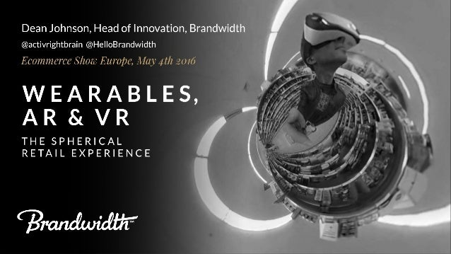 Wearables, AR & VR: The Spherical Retail Experience