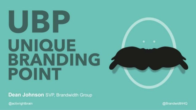 UBP – Unique Branding Point