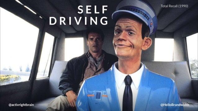 Total Recall (1990)  SELF,  ' DRIVI NG    @HelloBrandwidth',