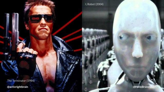 I,  Robot (2004)  i,  I *9'.  @He/ |IoBrandlNidtl1~,  A  The Terminator (1904)  @activrightbrain