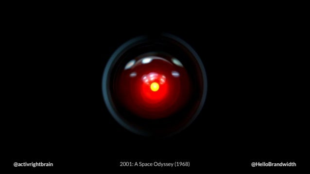 @activrightbrain 2001: A Space Odyssey (1968) @HelloBrandwidth