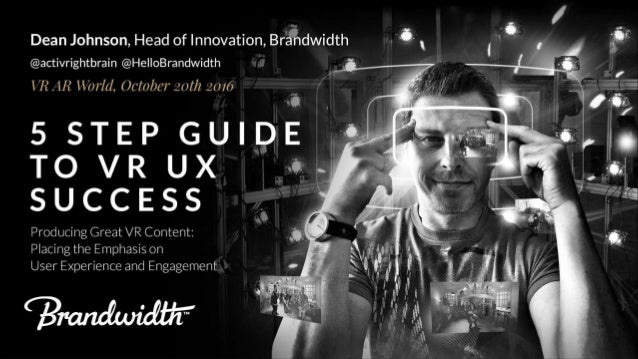 5 Steps to VR UX Success
