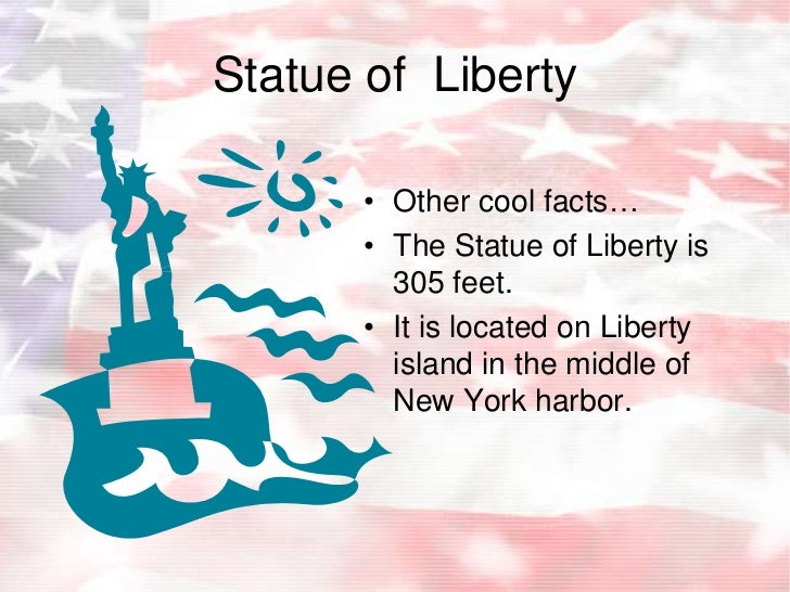 The Statue Of Liberty - Where is the statue of liberty located