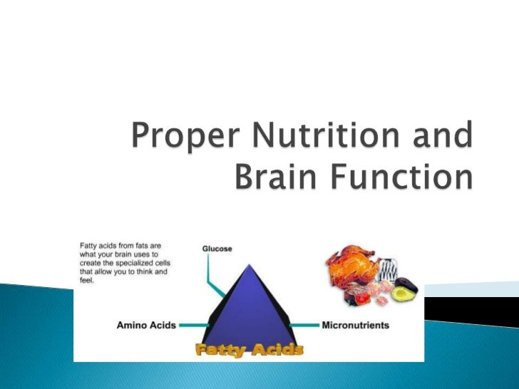 Fatty Acids are the key Building blocks to a healthy brain,your brain needs Fatty acids from healthy fats to produce      ...