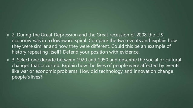 What Caused the Great Depression: A Lesson in Economics 7 min Excellent for note taking(captioned https://www.youtube.com...