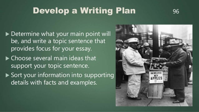 Review, Edit, and Rewrite 1. Re-read your essay several times. 2. How can you improve your sentences to communicate more c...