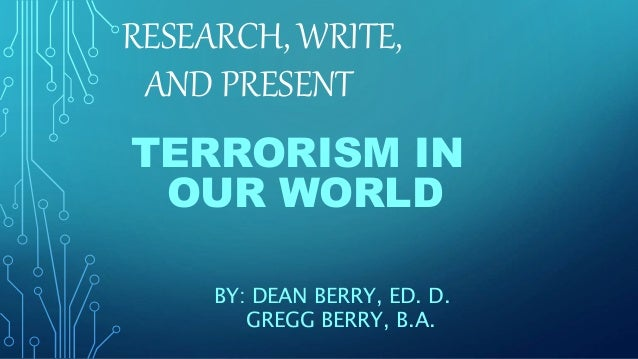 terrorism in the present world
