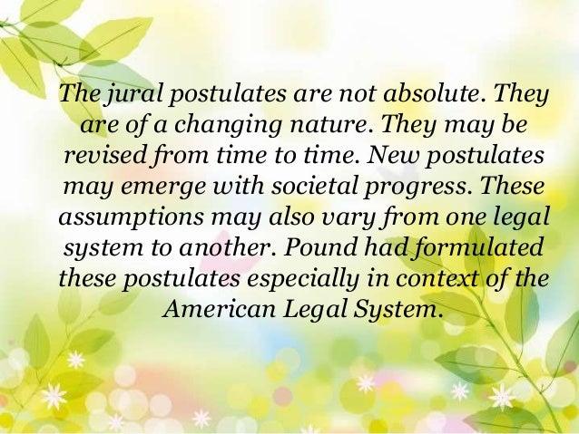 jural postulates