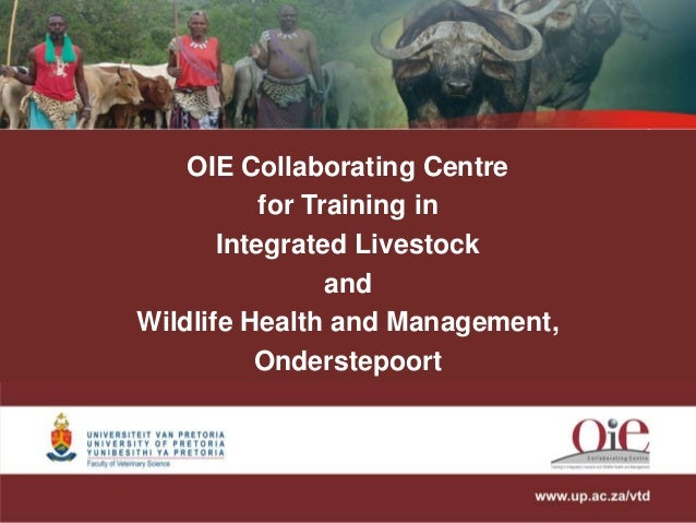 OIE Collaborating Centre for Training in Integrated Livestock and Wildlife Health and Management, Onderstepoort