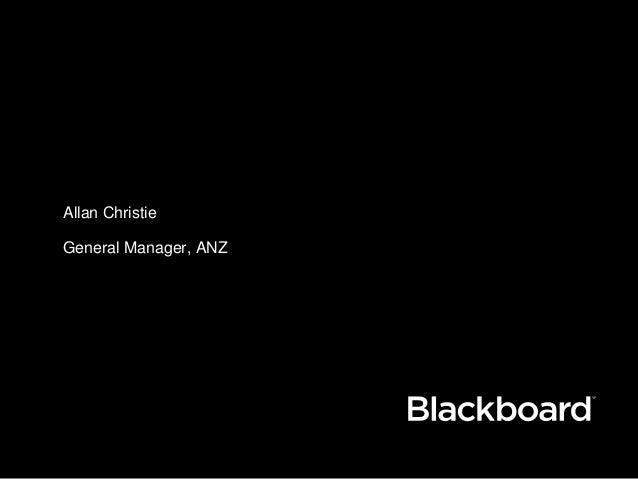 Allan Christie General Manager, ANZ