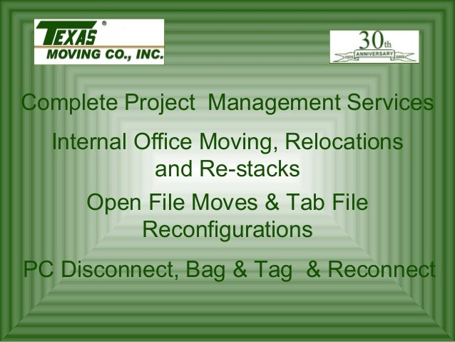 Disassembling and Reassembling Modular Furniture and Cubicles From several cubicles to several thousand cubicles, we are e...