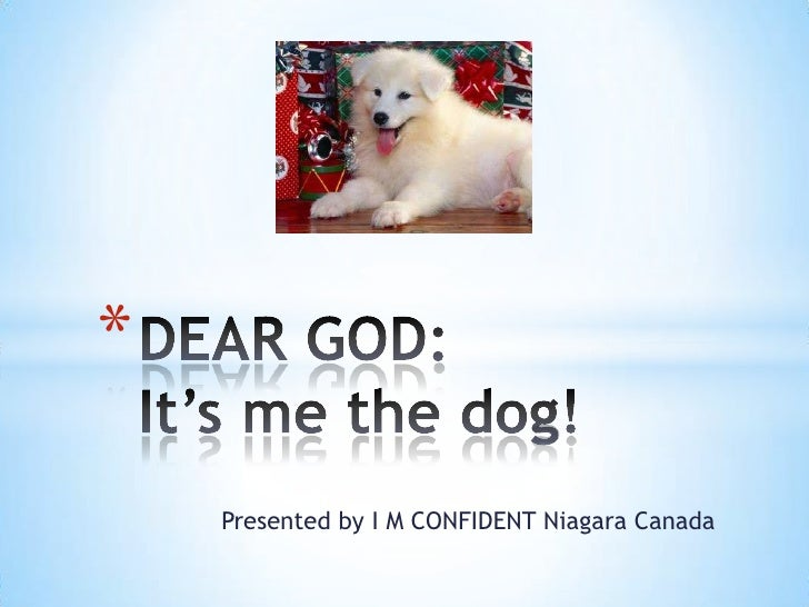 *    Presented by I M CONFIDENT Niagara Canada