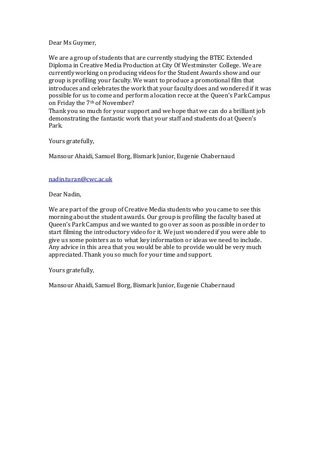recommendation letter examples dear sir or madam email addres 1558