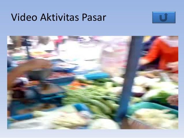 Video Aktivitas Pasar