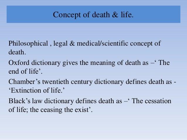 Death in Forensic Medicine Slide 3
